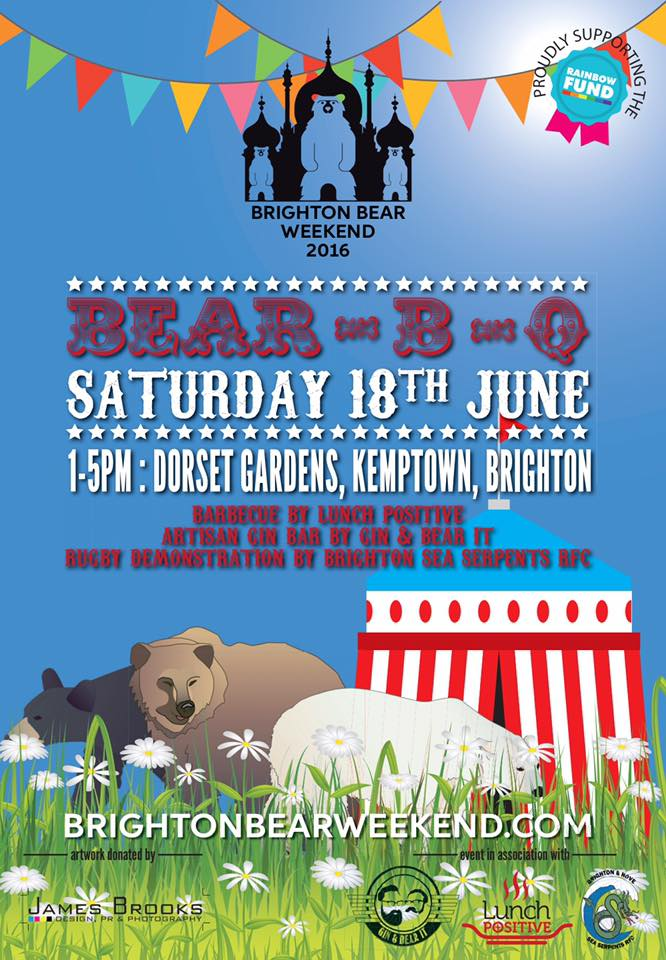 Brighton Bear Weekend Bear-B-Q