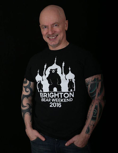 BBW 2016 t-shirt modelled by Rob