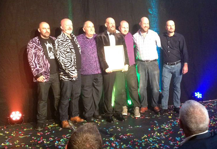 Brighton Bear Weekend receive Golden Handbag award