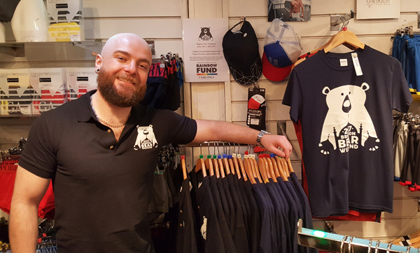 Brighton Bear Weekend 2017 gear at Prowler
