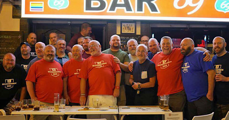 Yorkshire Bears in Benidorm