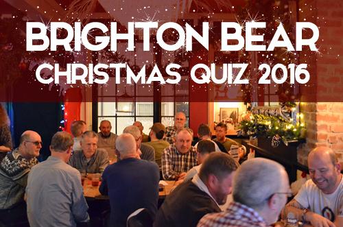 Christmas Quiz, 22 December 2016
