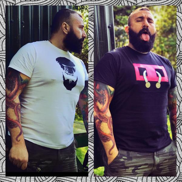 T-shirts by Tony Elias