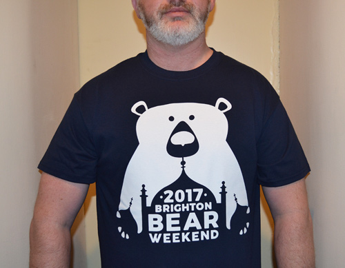 Brighton Bear Weekend 2017 t-shirt