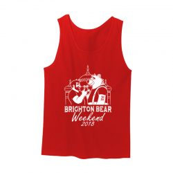 Red Brighton Bear Weekend 2018 vest