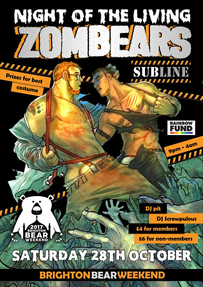 Night of the Living Zombears