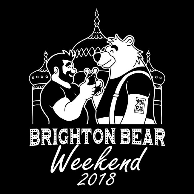 Brighton Bear Weekend 2018 logo