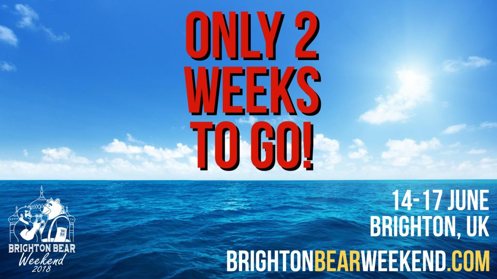 Only 2 weeks to go!
