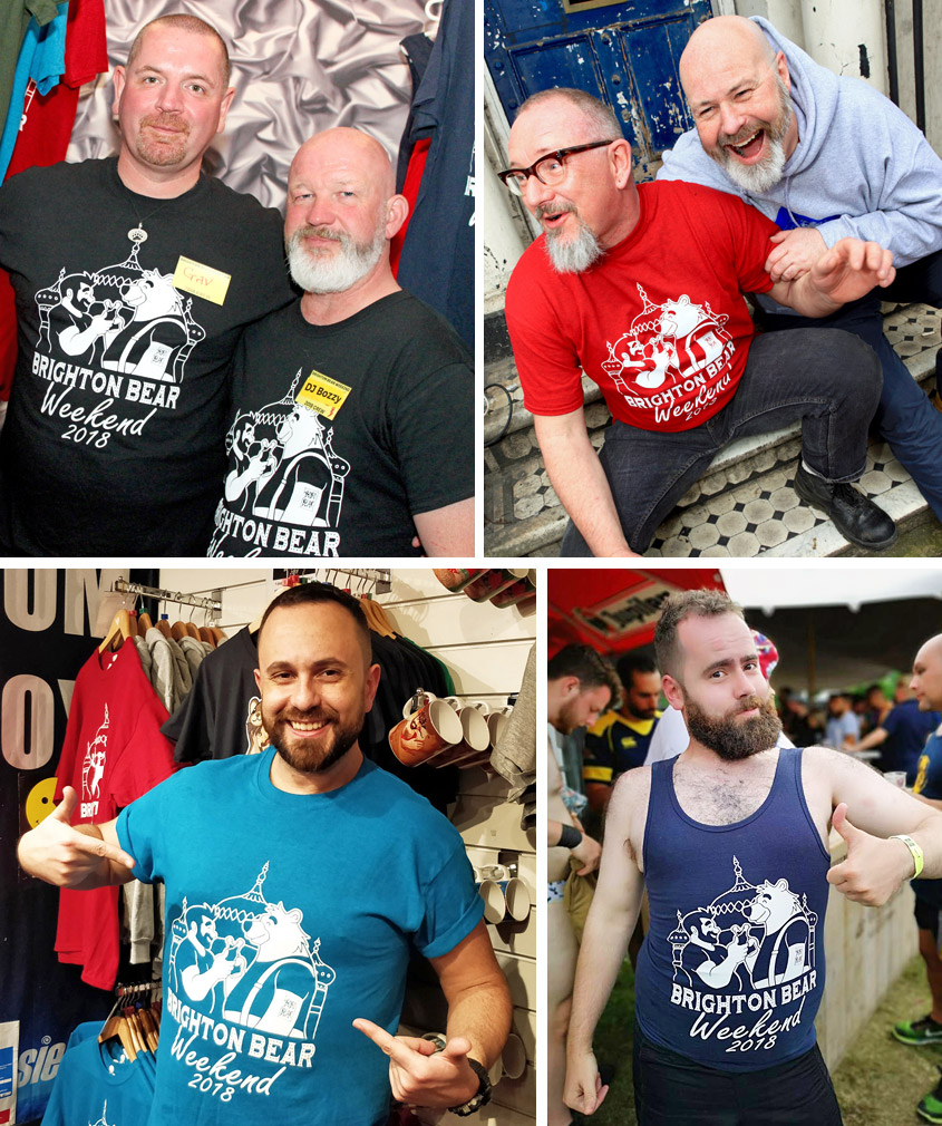 Brighton Bear Weekend 2018 merchandise