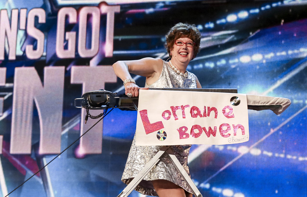 Lorraine Bowen on Britain's Got Talent in 2015