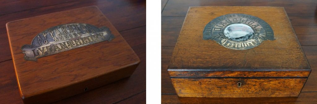 Puzzle boxes by the Strange Case Company