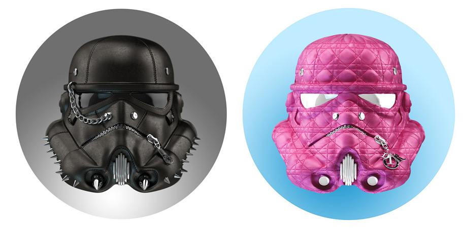 Clone Trooper and Adore Trooper by the Strange Case Company