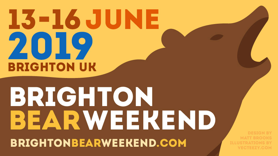 Brighton Bear Weekend: 13-16 June 2019
