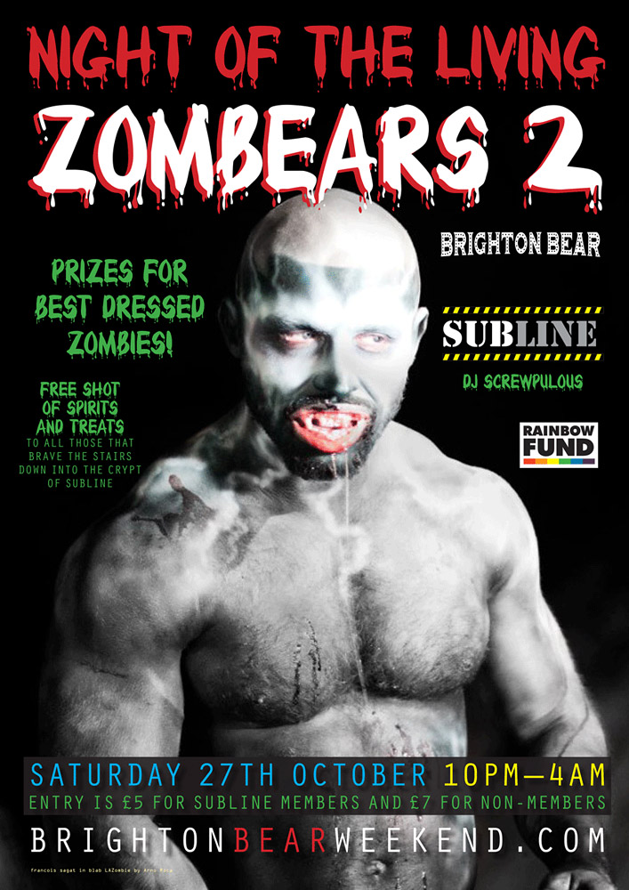Night of the Living Zombears 2 poster