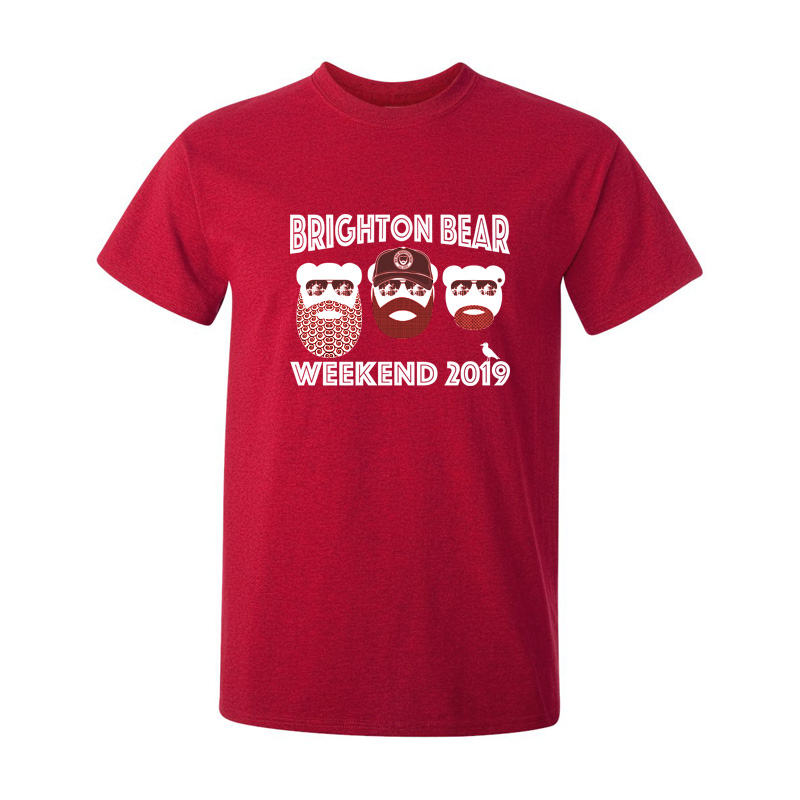 Red Brighton Bear Weekend 2019 t-shirt