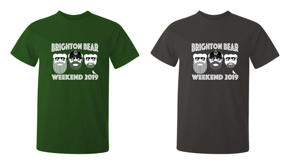 Forest Green and Gunmetal Grey 2019 t-shirts