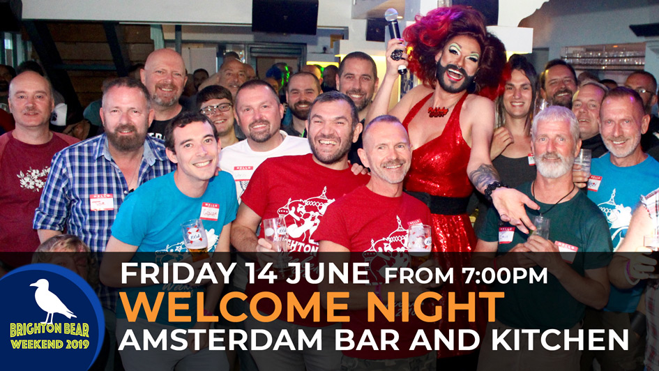 Welcome Night and Cabaret, Friday 14 June from 7:00 pm