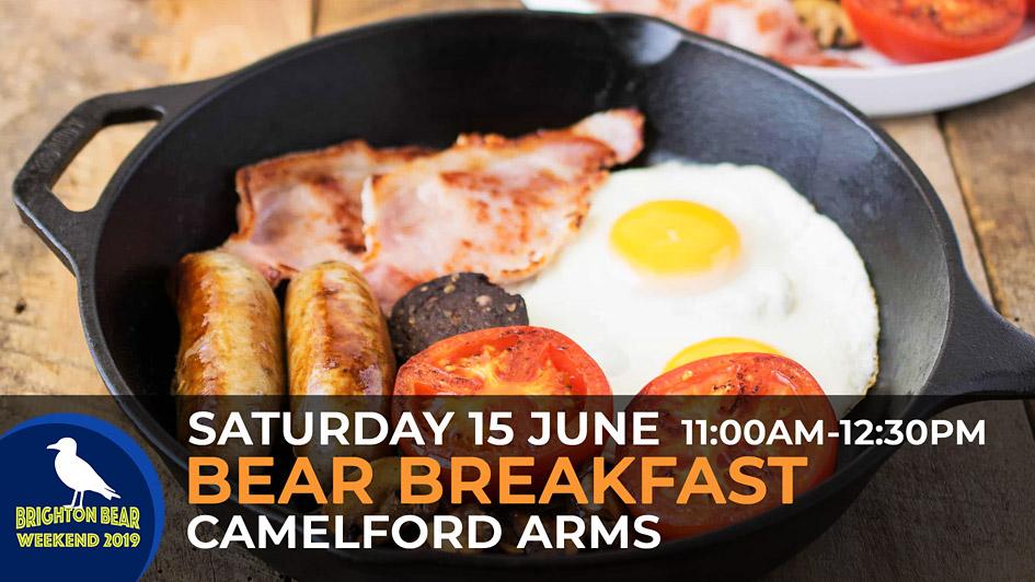 Bear Breakfast, Saturday 15 June, 11:00 am to 12:30 pm