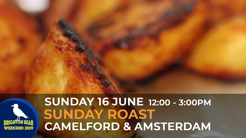 Sunday Roast. Sunday 16 June, 12:00 to 3:00 pm