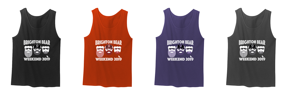 Brighton Bear Weekend 2019 vests