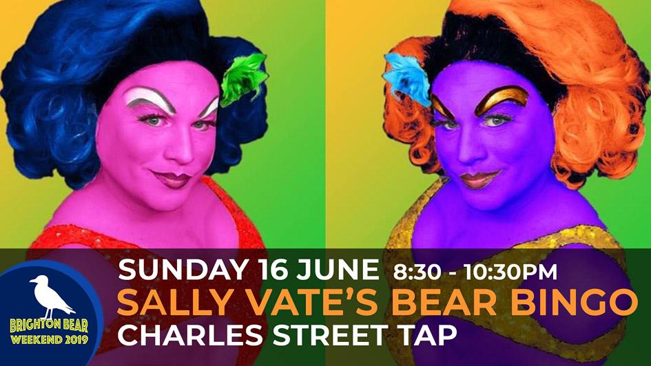 Sally Vate's Bear Bingo, Sunday 16 June, 8:30 to 10:30 pm