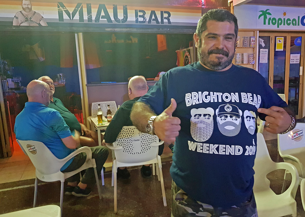 Mario from MIAU Bar, Gran Canaria
