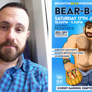Bobo-Bear and poster