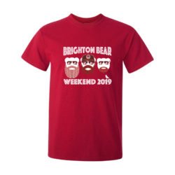 Red Brighton Bear Weekend 2019 t-shirt