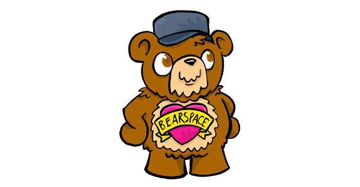 The Bearspace logo