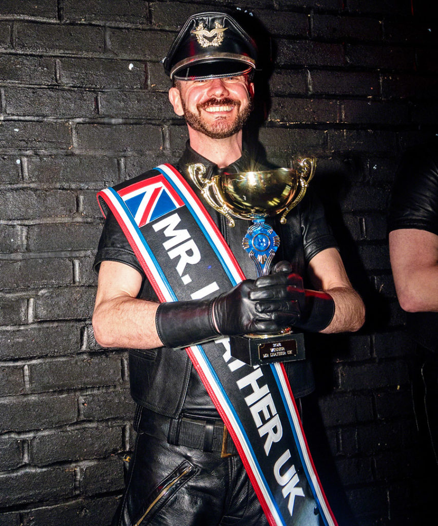 Steven Quick, Mr Leather UK 2018